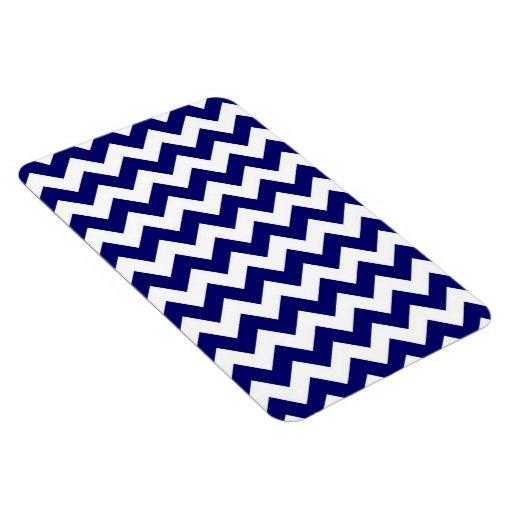 Marina de guerra y zigzag blanco iman flexible