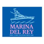 Marina Del Ray Postales
