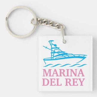 Marina Del Rey Keychain