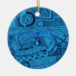 Marina Designs Good Karma Ceramic Ornament