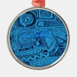 Marina Designs Good Karma Metal Ornament