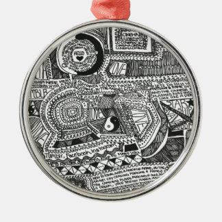 Marina Designs Metal Ornament