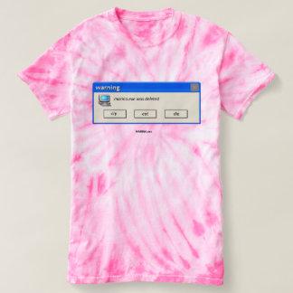 """MARINA.exe Deleted"" - Cyclone Tie-Dye T-Shirt"