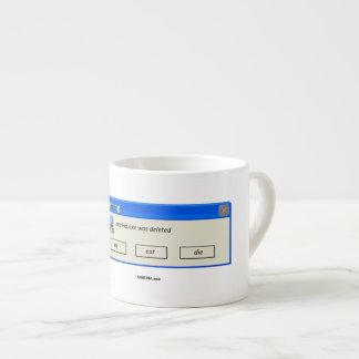 """""""MARINA.exe Deleted"""" - Espresso Mug"""