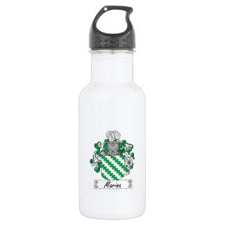 Marina Family Crest 18oz Water Bottle