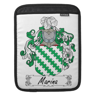 Marina Family Crest Sleeves For iPads