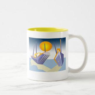 Marina I Two-Tone Coffee Mug