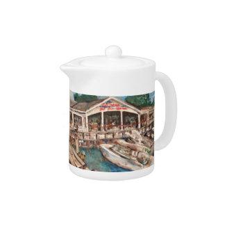 Marina in Western Basin, Kelley's Island Tea Pot