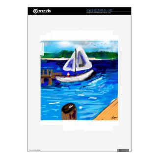 Marina iPad 2 Decal