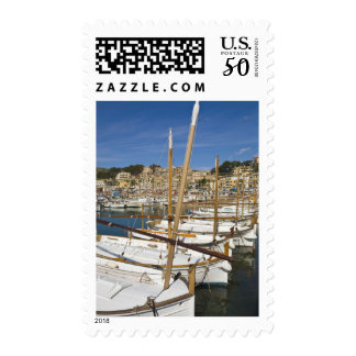 Marina, Port de Soller, West coast, Mallorca, Postage