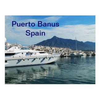 Marina, Puerto Banus, Spain Post Card