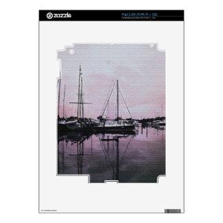 Marina Reflections Skins For The iPad 2