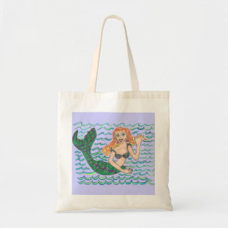 Marina The Mermaid Budget Tote Bag