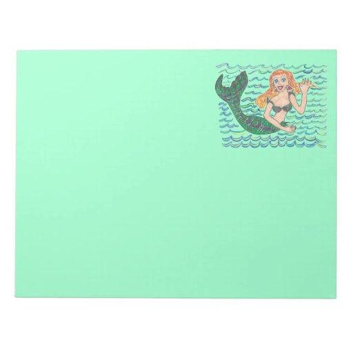 Marina The Mermaid Memo Pad