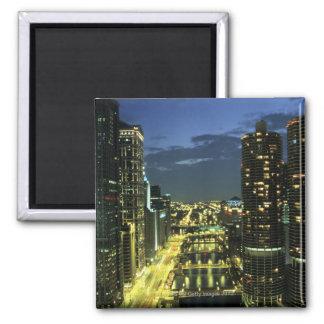 Marina Towers, Chicago River, Wacker Drive, Magnet