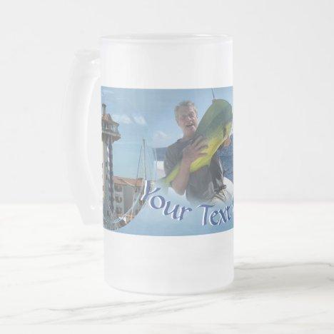 Marina Vallarta 0948 Frosted Glass Beer Mug