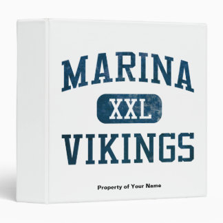 Marina Vikings Athletics Binder