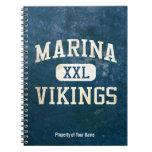 Marina Vikings Athletics Note Books