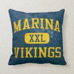Marina Vikings Athletics Pillow