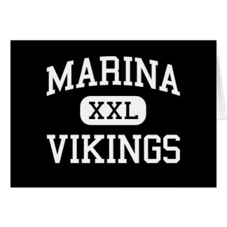 Marina - Vikings - High - Huntington Beach Card
