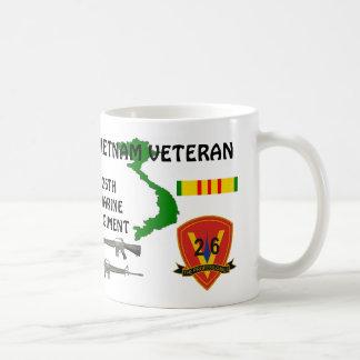 Marine 26th Regiment Vietnam Veteran Coffee Mug