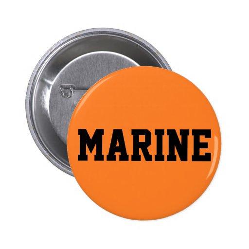 Marine 2 Inch Round Button