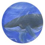 Marine animal art Plate