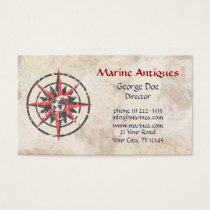 Marine Antiques Business Card