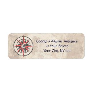 Marine Antiques Label