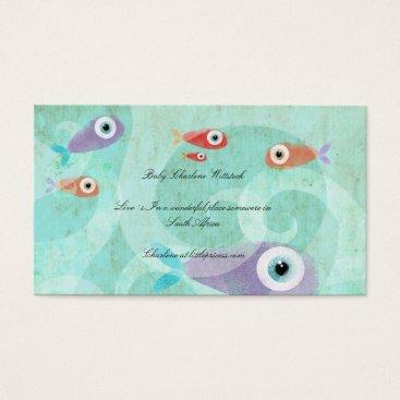 Professional Business Marine Aquarium Aquatic Business Cards