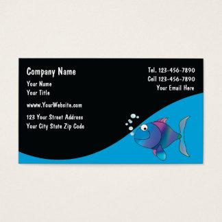 Marine Aquarium Services Cards