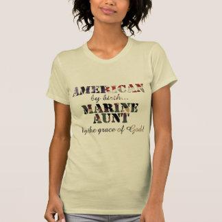 Marine Aunt Grace of God T-Shirt