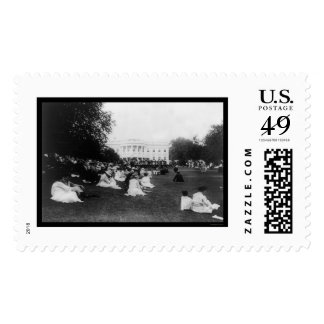 Marine Band Concert at the White House 1921 Postage Stamps