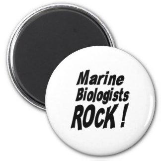 Marine Biologists Rock Magnet