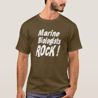 Marine Biologists Rock! T-shirt