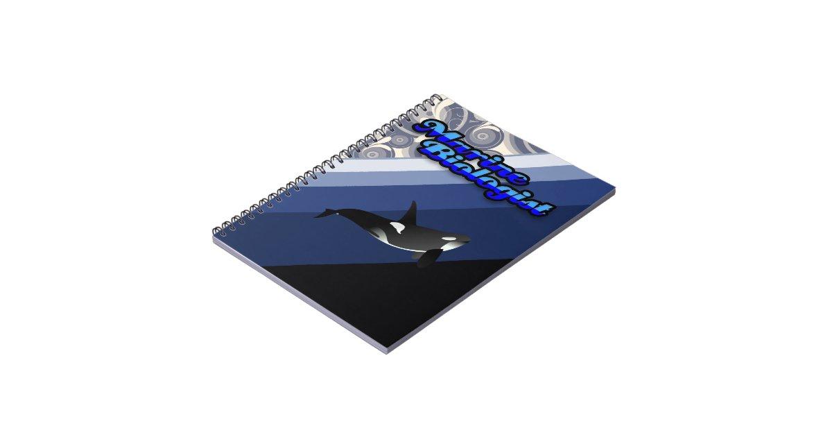 Marine Biology Notebook | Zazzle