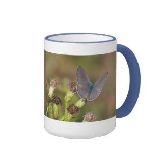 Marine Blue Butterfly Mug