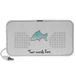 Marine blue shark travelling speaker