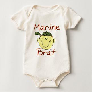 Marine Brat Boy Baby Bodysuit