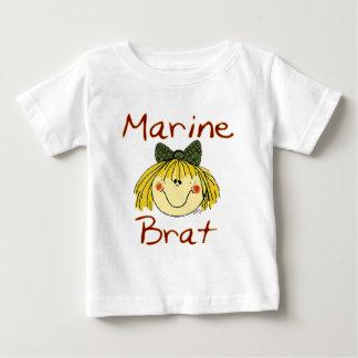 Marine Brat Girl Baby T-Shirt