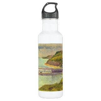 Marine by Georges Seurat 24oz Water Bottle