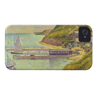 Marine by Georges Seurat Case-Mate iPhone 4 Case