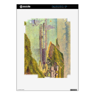 Marine by Georges Seurat iPad 2 Skin