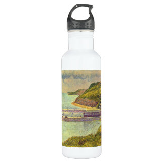 Marine by Georges Seurat Water Bottle
