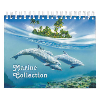Marine Collection Small Calendar