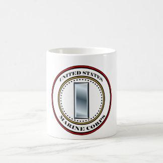 Marine Corps 1stLt First Lieutenant 0-2 Classic White Coffee Mug