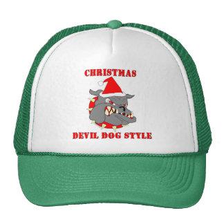 Marine Corps Christmas Devil Dog Style Mesh Hat