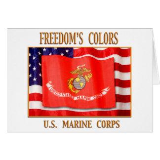 Marine Corps Greeting Card
