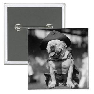Marine Corps Mascot, 1920s Button
