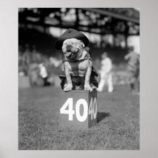 Marine Corps Mascot Jiggs 1923 Poster